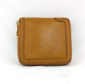Marc by Marc Jacobs Caramel Leather Zip Wallet