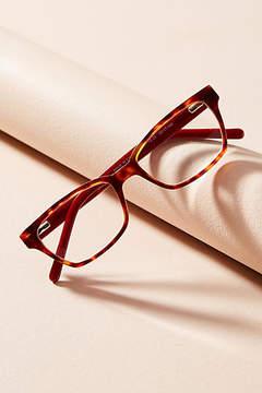 Anthropologie Burgundy Tortoise Reading Glasses