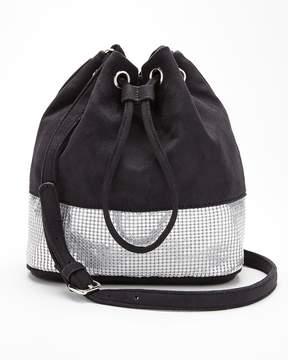 Express Metal Mesh Bucket Bag