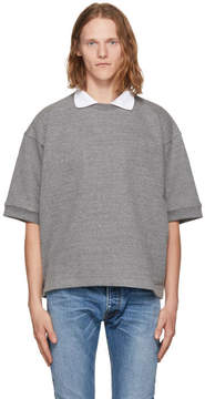 Fear Of God Grey Terry Crewneck Polo