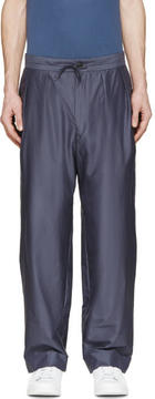Paul Smith Slate Pleated Pillar Suit Trousers