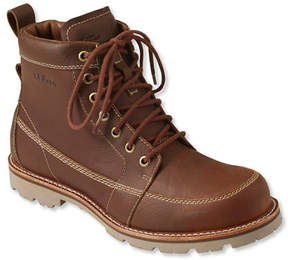 L.L. Bean Men's East Point Waterproof Boots, Moc Toe