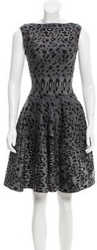 Alaia Textured Fit and Flare Dress