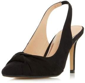 Head Over Heels *Head Over Heels by Dune Black 'Charlise' High Heel Court Shoes