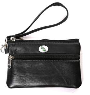 NCAA North Texas Mean Green Leather Wristlet