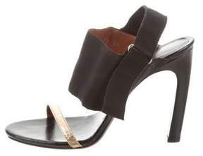 Dries Van Noten Leather Bicolor Sandals