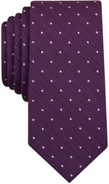 Bar III Men's Canyon Dot Skinny Tie, Created for Macy's