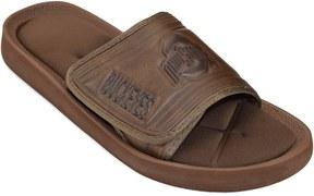 NCAA Adult Ohio State Buckeyes Memory Foam Slide Sandals
