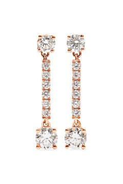 Anita Ko Emma 18-karat Rose Gold Diamond Earrings