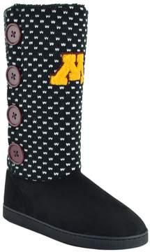 NCAA Women's Minnesota Golden Gophers Button Boots