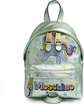 Moschino My Little Pony leather backpack