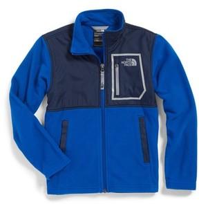 The North Face Boy's Glacier Microfleece Track Jacket