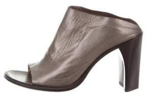 CNC Costume National Metallic Glove Sandals