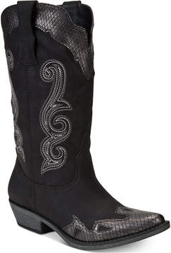 American Rag Demi Cowboy Boots, Created for Macy's Women's Shoes