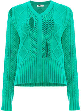 Aalto jumper with hole details
