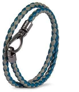 Tod's Men's Blue Leather Belt.