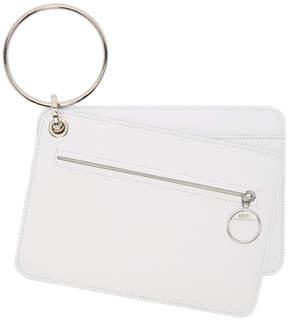 Maison Margiela White Keyring Wallet Set