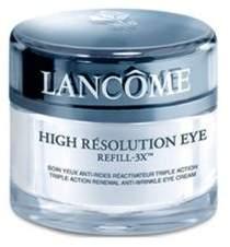 Lancome High Resolution Eye Refill-3X Triple Action Renewal Anti-Wrinkle Eye Cream/0.5 oz.