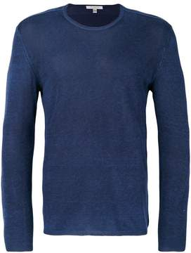 John Varvatos fine-knit sweater