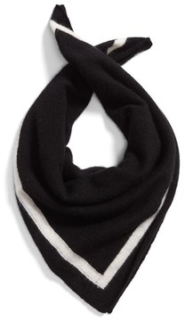 White + Warren Women's Tipped Cashmere Scarf