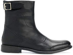 Paul Smith buckle detail ankle boots