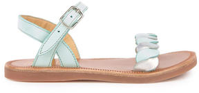 Pom D'Api Leather sandals Plagette Twist