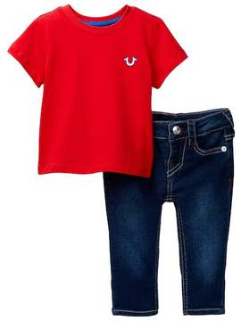 True Religion Buddha Tee & Jean 2-Piece Set (Baby Boys)