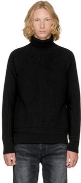 DSQUARED2 Black Amish Turtleneck