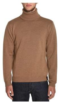 Altea Men's Beige Wool Sweater.