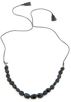 Chan Luu Blue Labradorite Adjustable 42 Cord Necklace