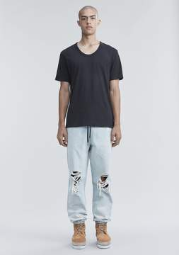Alexander Wang CLASSIC LOW NECK TEE TEE