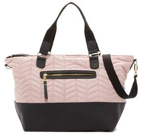 Madden Girl Coriq Quilted Weekend Bag