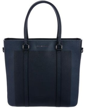 Burberry Pebble Leather Tote