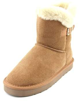 Style&Co. Style & Co Tiny 2 Women Round Toe Suede Brown Winter Boot.