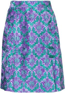 G.V.G.V. jacquard mini skirt