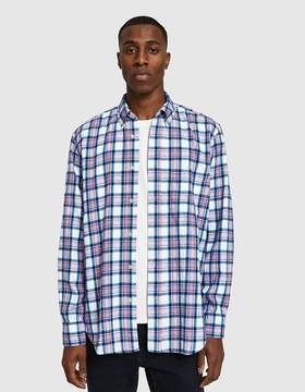 Our Legacy Original BD Shirt Pink/Blue Check