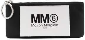 MM6 MAISON MARGIELA logo patch coin pouch