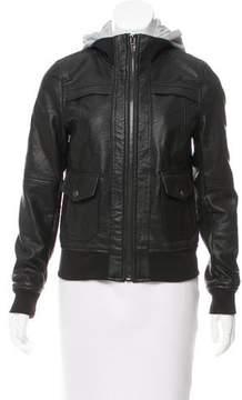 Blank NYC Hooded Layered Jacket