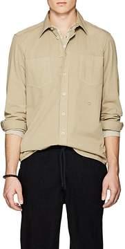 Massimo Alba Men's Cotton Drill Shirt