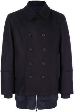 Diesel Black Gold Jiber double-breasted coat
