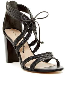 Via Spiga Gardenia Pleated Strappy Sandal