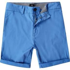 River Island Boys blue chino shorts