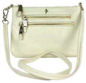 Cole Haan White Leather Crossbody Bag