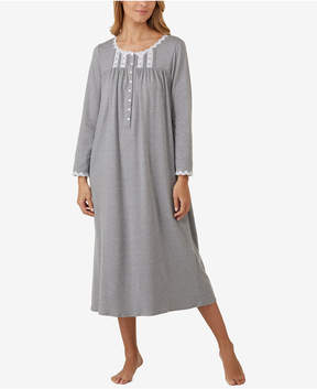 Eileen West Heathered Ballet-Length Nightgown