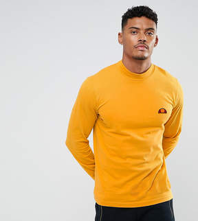 Ellesse Long Sleeve T-Shirt With Large Logo In Gold