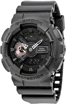Casio G-Shock Analog-Digital Black Resin Men's Watch