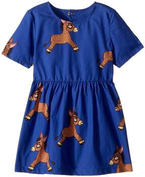 Mini Rodini Donkey Woven Dress Girl's Dress