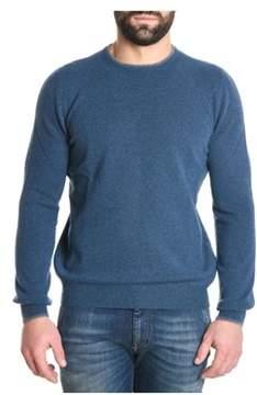 Fay Men's Blue Wool Sweater.
