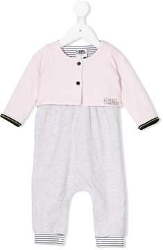 Karl Lagerfeld logo pajamas