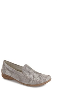 Gabor Women's Perforated Loafer
